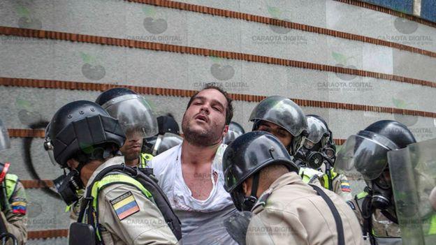 Prisão de Sergio Contreras