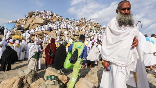 Hajj: Why Arafat na important day for Muslims - BBC News Pidgin