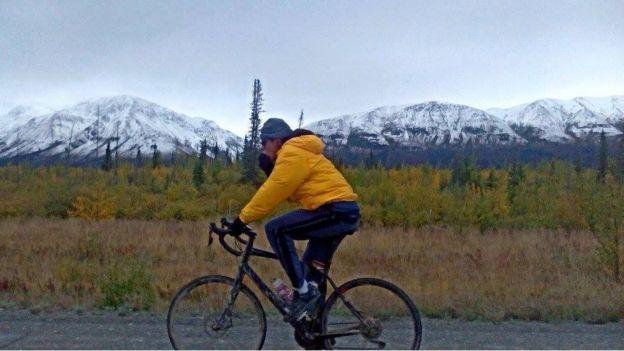 Carlos Santamaría en Alaska