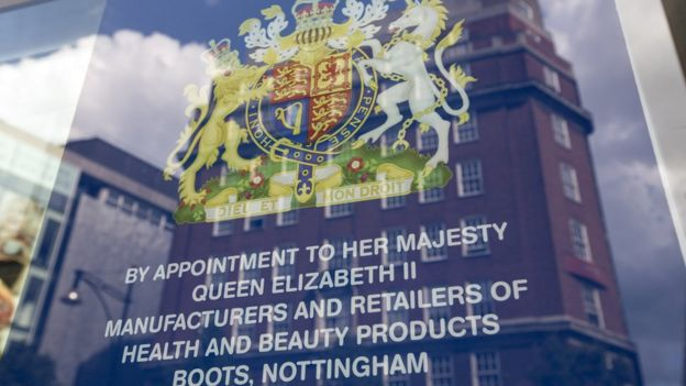 Королевский патент с гербом