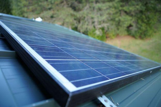 Panel solar.