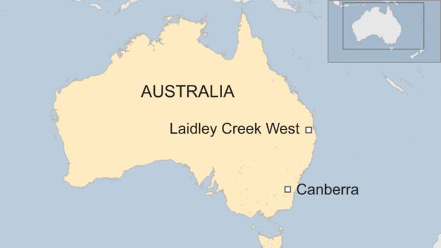 Australia Map In World.Australian Police Google Maps Blunder Missed Location Of Body