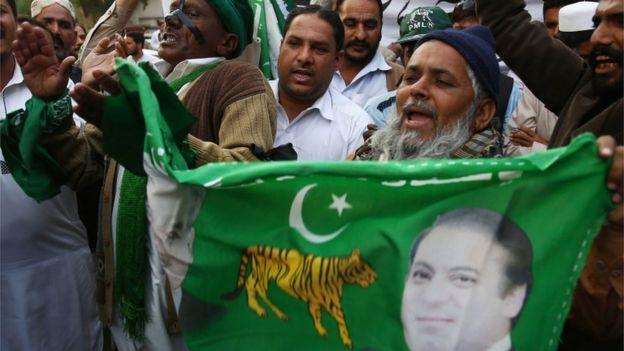 مسلم لیگ نون کے حامی