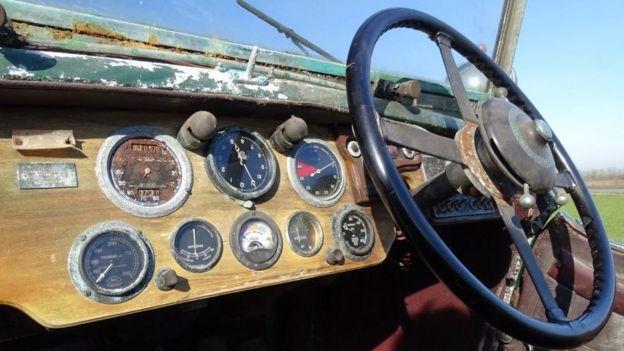 1936 Bentley 4,5 litri Vanden Plas Tourer