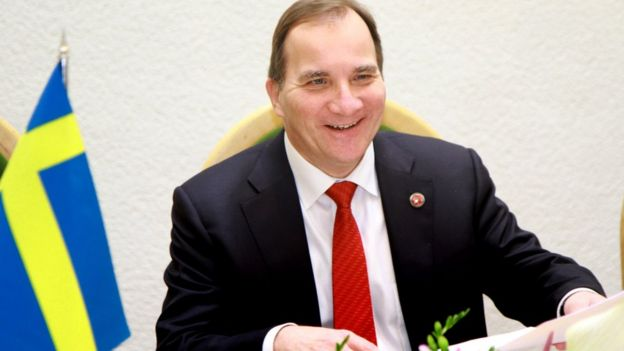 Αποτέλεσμα εικόνας για swedish prime minister 2017