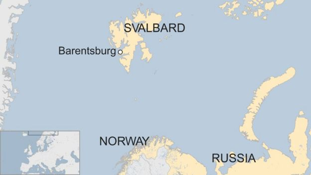 Missing Russian helicopter found in Norway Arctic sea - BBC News