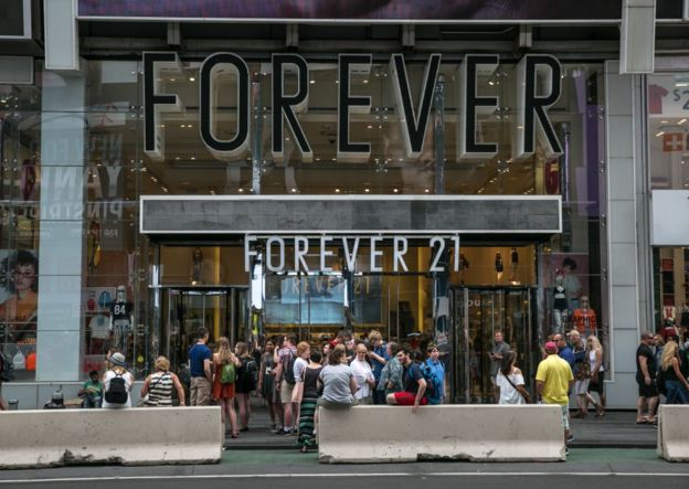 Una tienda Forever 21