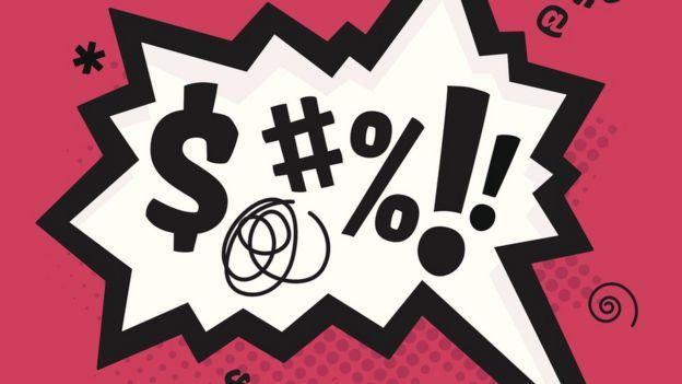 Symbols that graphic bad words