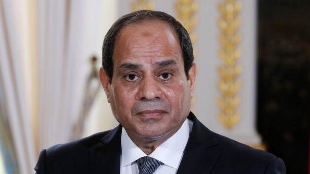 El presidente egipcio, Al Sisi.
