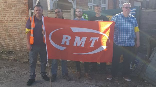 RMT picket