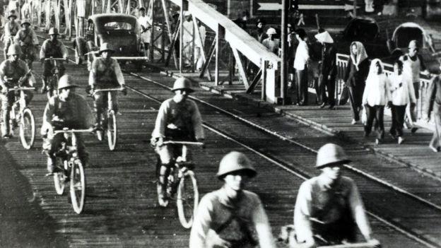 Quân đội Nhật Hoàng vào Hà Nội năm 1941