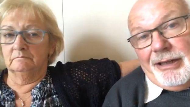 Sally and David Abel