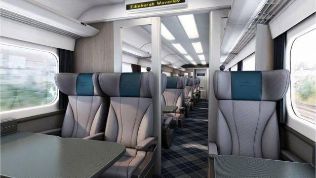 First refurbished high-speed train starts on Aberdeen