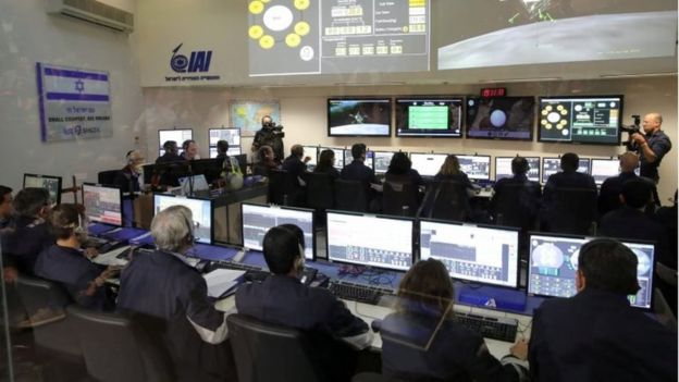 Controllers monitor the mission