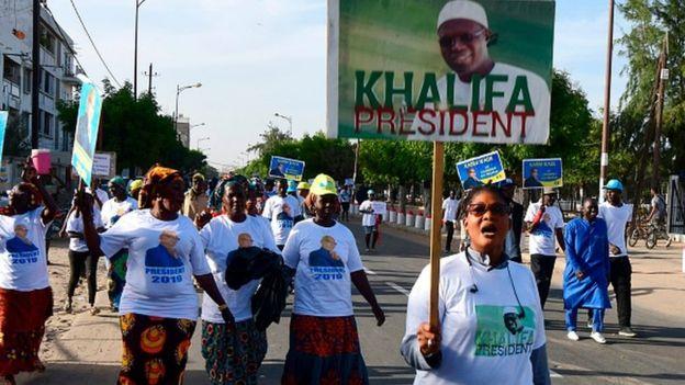Khalifa Sall est considéré comme l'un des rares adversaires à pouvoir menacer Macky Sall dans les urnes.