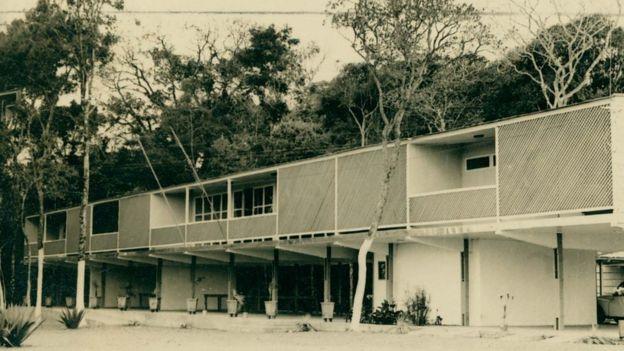Catetinho, casa projetada por Oscar Niemeyer e que abrigou Juscelino Kubitschek no início da construção de Brasília