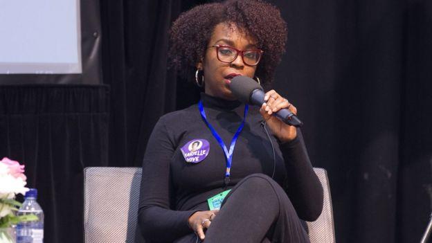 Joice Berth, arquiteta e urbanista especializada em direito à cidade com recorte em gênero e raça, assessora parlamentar em Londres - maio de 2018