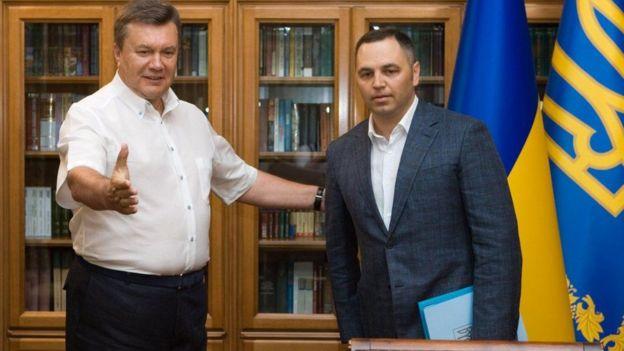 Портнов і Янукович