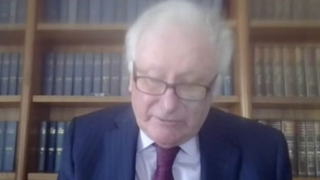 Lord Kerr: Delivering judgment by video link due to coronavirus measures
