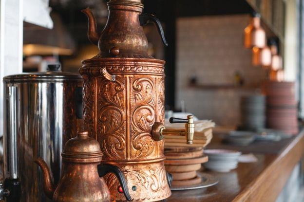 ترکی میں چائے دانی