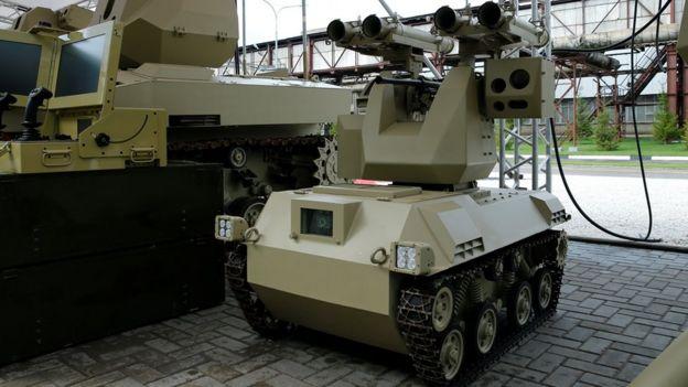 Kalashnikov mobile rocket unit