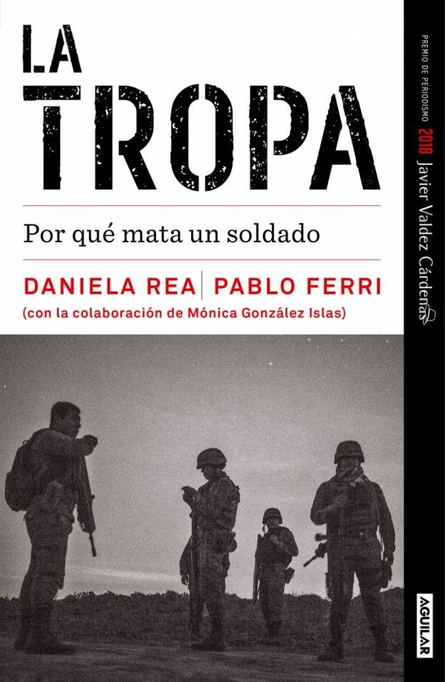 Capa do livro 'La tropa: por qué mata un soldado'