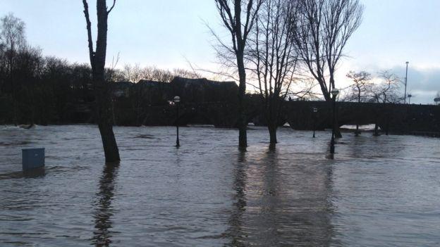 Ellon floods