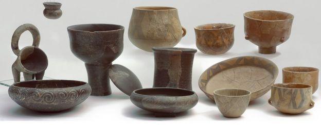 Dünyanın en eski peyniri, buna benzeyen neolitik çömleklerin üzerinde bulundu