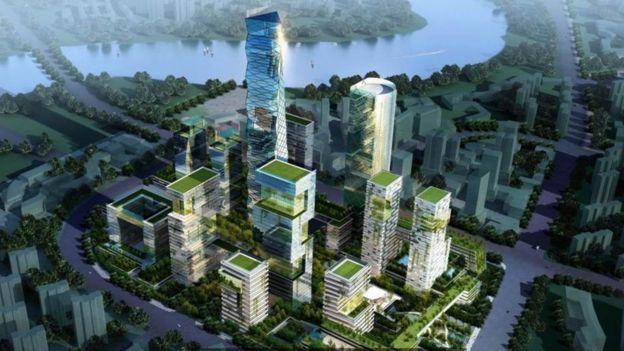 Projeto de Tianjin, China