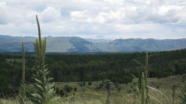 Las montañas de Córdoba