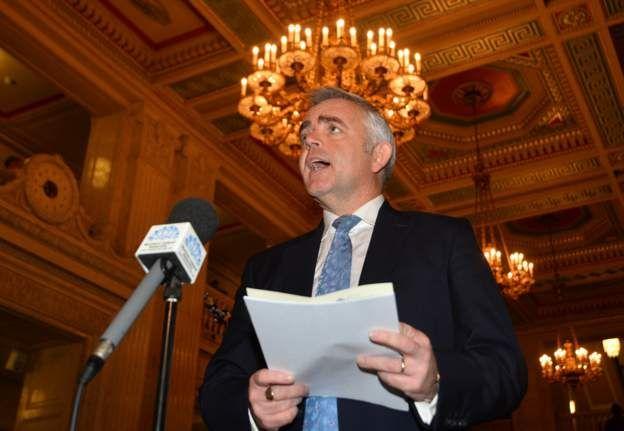 Former DUP minister Jonathan Bell
