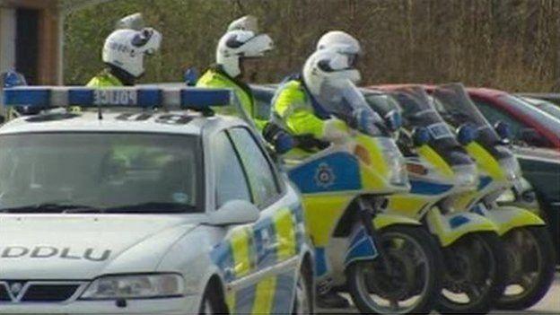 NWP motorcycle patrols