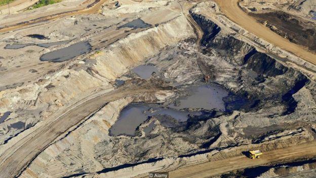 Mineração de betume