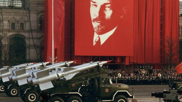 Soviet military parade