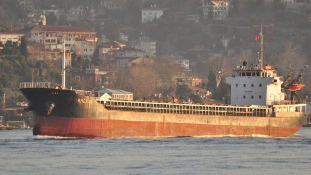 MV Rhossus