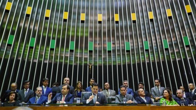 Abertura das atividades da Câmara dos Deputados em 2019
