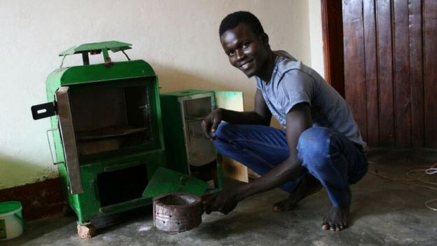 Fighting food waste in Africa with biofuel-run Sparky Dryer