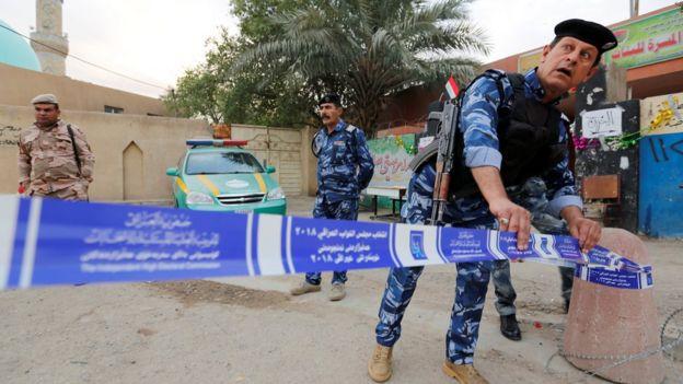 الأمن العراقي انتشر لتأمين الانتخابات
