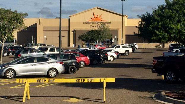 Центр содержания под стражей Casa Padre в Браунсвилле, штат Техас