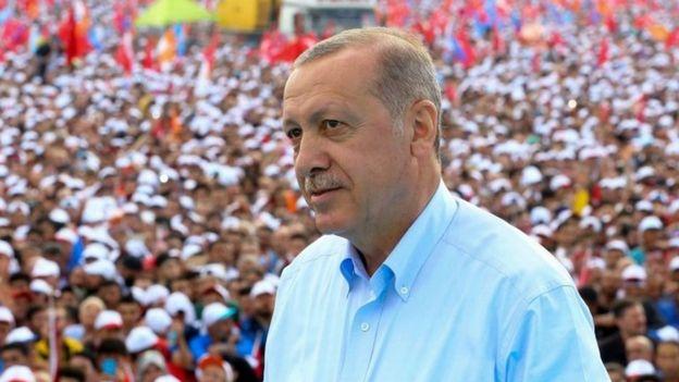 جمعیتی انبوه در تجمعهای انتخاباتی پرزیدنت اردوغان شرکت میکنند