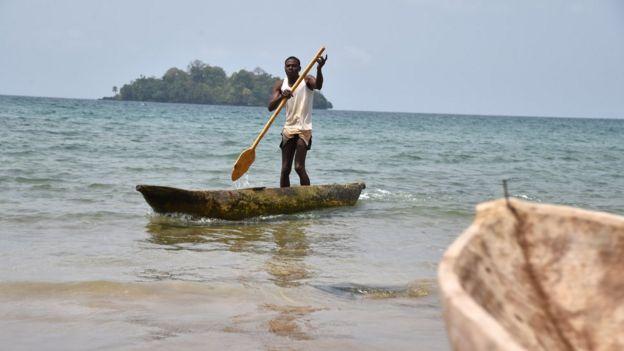 Equatorial guinea country profile bbc news boatman in equatorial guinea sciox Choice Image