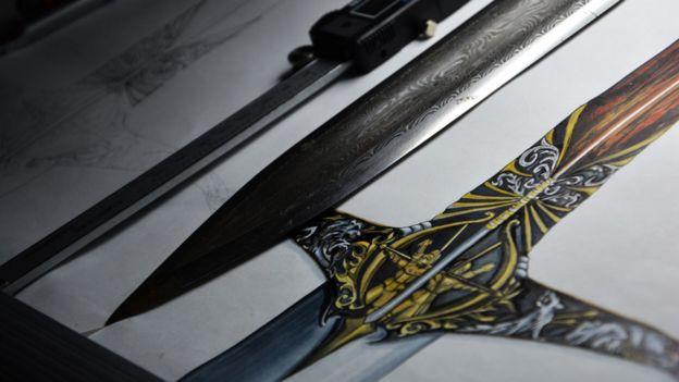Heartsbane sword designs