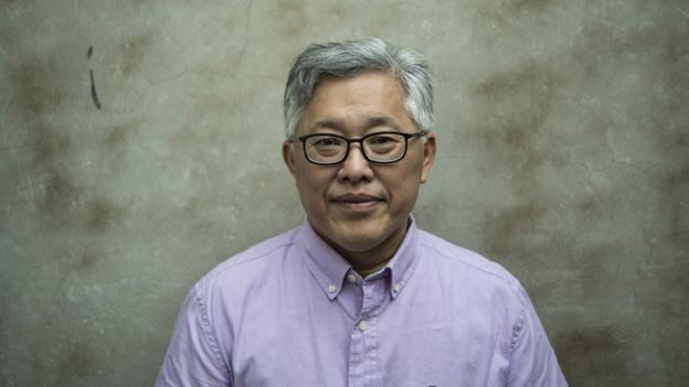 Jin Mingri, head pastor of the Zion church
