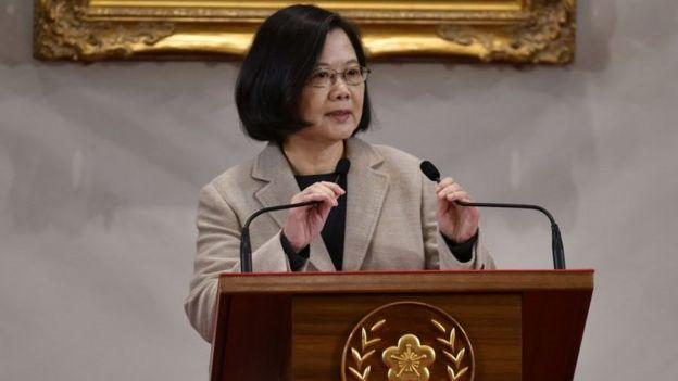 رئيسة تايوان، تساي إينغ وين