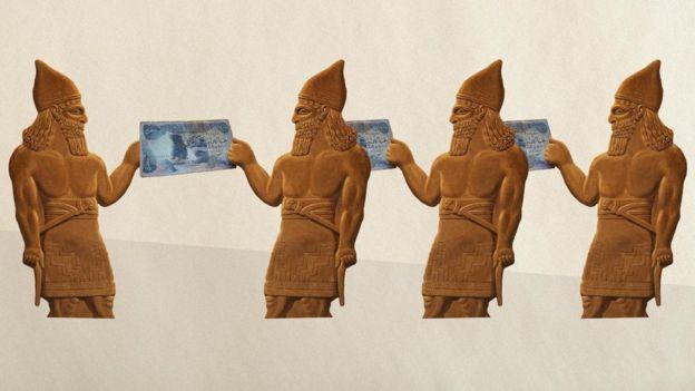 أول من ابتكر مفهوم المال كان البابليون القدماء