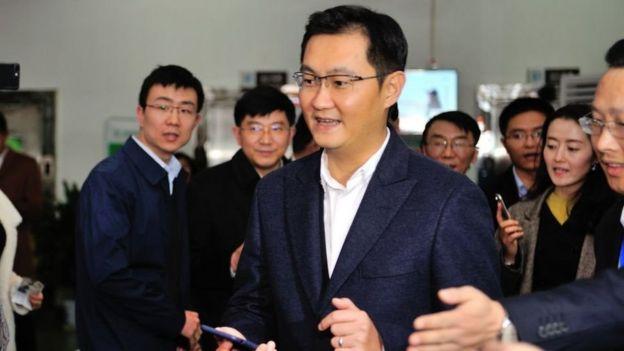 El fundador de Tencent.