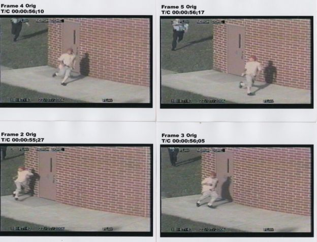 Security footage