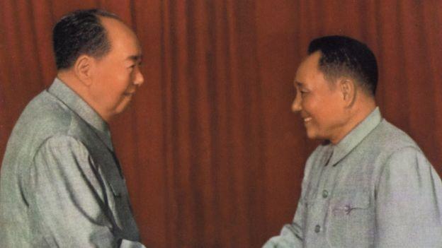 Mao e Deng Xiaoping