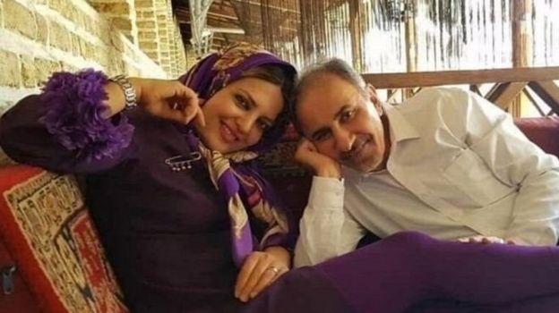 محمد علی نجفی و میترا استاد