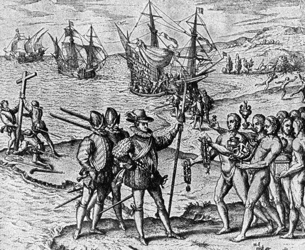 """Algunos """"americanismos"""" proceden de las Antillas, el primer territorio al que llegó Cristóbal Colón."""